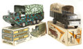 Antiques:Toys, Marx U.S.M.C. Amphibious Duck and Army Truck in the Original Boxes.... (Total: 2 Items)