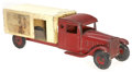 "Antiques:Toys, Steelcraft ""Fro Joy"" Ice Cream Delivery Truck...."