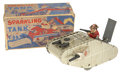 Antiques:Toys, Marx Windup Tin WWI Tank Toy.... (Total: 2 Items)