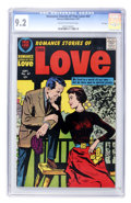 Silver Age (1956-1969):Romance, Romance Stories of True Love #47 File Copy (Harvey, 1957) CGC NM- 9.2 Cream to off-white pages....