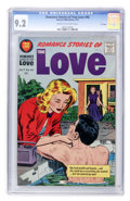 Silver Age (1956-1969):Romance, Romance Stories of True Love #46 File Copy (Harvey, 1957) CGC NM-9.2 Cream to off-white pages....