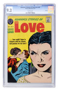 Silver Age (1956-1969):Romance, Romance Stories of True Love #45 File Copy (Harvey, 1957) CGC NM-9.2 Off-white pages....