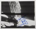 Autographs:Celebrities, Neil Armstrong First Step on the Moon Photo Signed....