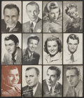 Non-Sport Cards:General, 1950's Actors Exhibit Collection (200+). ...