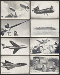 Non-Sport Cards:General, 1950's Military Theme Exhibit Collection (150+). ...