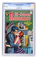 Golden Age (1938-1955):Romance, Hi-School Romance #38 File Copy (Harvey, 1955) CGC NM- 9.2 Cream tooff-white pages....
