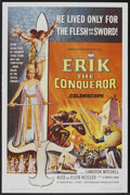 """Movie Posters:Action, Erik the Conqueror (American International, 1963). One Sheet (27"""" X 41""""). Action.. ..."""