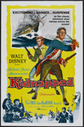 "Movie Posters:Adventure, Kidnapped (Buena Vista, 1960). One Sheet (27"" X 41""). Adventure....."