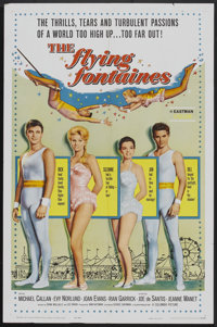 "The Flying Fontaines (Columbia, 1959). One Sheet (27"" X 41""). Drama"