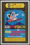 "Movie Posters:Animated, 1001 Arabian Nights (Columbia, 1959). One Sheet (27"" X 41"").Animated.. ..."