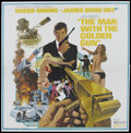 "Movie Posters:James Bond, The Man With the Golden Gun (United Artists, 1974). Six Sheet (81"" X 81""). James Bond.. ..."