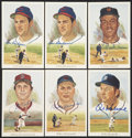Autographs:Post Cards, Perez Steele Signed Postcards Lot Of 18....