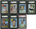 Baseball Cards:Sets, 1969 Topps Baseball Near Set (657/664)....