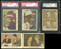 Baseball Cards:Sets, 1959 Fleer Ted Williams Near Set (64/80) Includes #68 Ted Signs. ...