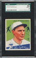 Baseball Cards:Singles (1930-1939), 1934 Goudey Leo Durocher #7 SGC 88 NM/MT 8....
