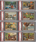 "Non-Sport Cards:Sets, 1962 Topps ""Civil War News"" Complete Set (88) plus CurrencyComplete Set (17). ..."