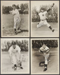 """Autographs:Photos, New York Yankees Signed Vintage 8"""" x 10"""" Photographs Lot Of 7...."""