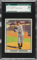 "Baseball Cards:Singles (1940-1949), 1941 Play Ball ""Charley"" Gehringer #19 SGC 88 NM/MT 8...."