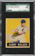 Baseball Cards:Singles (1940-1949), 1948-49 Leaf Gum Co. Harry Walker SP #137 SGC 88 NM/MT 8....