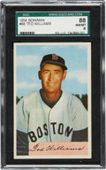 Baseball Cards:Singles (1950-1959), 1954 Bowman Ted Williams #66 SGC 88 NM/MT 8....