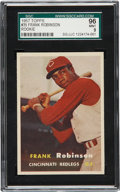 Baseball Cards:Singles (1950-1959), 1957 Topps Frank Robinson #35 Rookie SGC 96 MINT 9....