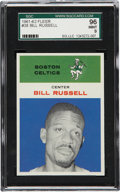 Basketball Cards:Singles (Pre-1970), 1961 Fleer Bill Russell #38 SGC 96 Mint 9....