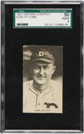 Baseball Cards:Singles (Pre-1930), 1921 E253 Oxford Confectionery Ty Cobb SGC 50 VG/EX 4....