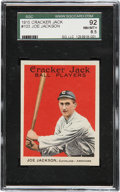 Baseball Cards:Singles (Pre-1930), 1915 Cracker Jack Joe Jackson #103 SGC 92 NM/MT+ 8.5....