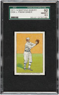 Baseball Cards:Singles (Pre-1930), 1911-14 D304 General Baking Co. J. Frank Baker SGC 92 NM/MT+8.5....