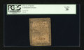 Colonial Notes:Continental Congress Issues, Continental Currency February 17, 1776 $2/3 PCGS Very Fine 20....