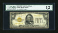 Small Size:Gold Certificates, Fr. 2404 $50 1928 Gold Certificate. PMG Fine 12 Net.. ...