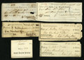 Miscellaneous:Other, Bank of the United States Checks.. ... (Total: 6 items)