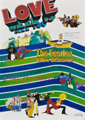 "Movie Posters:Animated, Yellow Submarine (United Artists, 1968). Japanese Speed (14.25"" X20.25"").. ..."