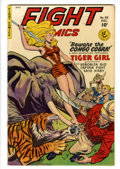 Golden Age (1938-1955):Adventure, Fight Comics #65 Lost Valley pedigree (Fiction House, 1949) Condition: VF....