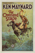 """Movie Posters:Western, The Overland Stage (First National, 1927). One Sheet (27"""" X 41"""")Style B.. ..."""