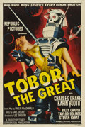 "Movie Posters:Science Fiction, Tobor the Great (Republic, 1954). One Sheet (27"" X 41"").. ..."