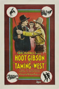 "Movie Posters:Western, Taming of the West (Universal, 1925). One Sheet (27"" X 41"").. ..."