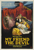 "Movie Posters:Drama, My Friend the Devil (Fox, 1922). One Sheet (27"" X 41"").. ..."