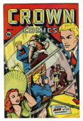 Golden Age (1938-1955):Miscellaneous, Crown Comics #4 (Golfing, Inc., 1945) Condition: VF....