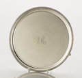 Silver Holloware, British:Holloware, A GEORGE III SILVER FOOTED TRAY. George Smith & Thomas Hayter,London, England, circa 1802-1803. Marks: (lion passant), (leo...