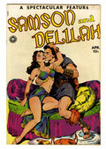 Golden Age (1938-1955):Adventure, Spectacular Feature Magazine #11 (#1) Samson and Delilah - Lost Valley pedigree (Fox, 1950) Condition: VF+....
