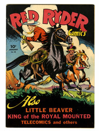 Red Ryder Comics #30 Lost Valley pedigree (Dell, 1946) Condition: VF