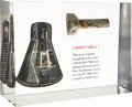 Explorers:Space Exploration, Mercury-Redstone 4 Liberty Bell 7 Flown Large Component from the Recovered Spacecraft....