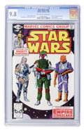 Modern Age (1980-Present):Science Fiction, Star Wars #42 (Marvel, 1980) CGC NM/MT 9.8 Off-white to whitepages....