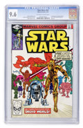 Modern Age (1980-Present):Science Fiction, Star Wars #47 (Marvel, 1981) CGC NM+ 9.6 Off-white to whitepages....