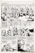Original Comic Art:Panel Pages, Jack Kirby and George Roussos Sgt. Fury #7, page 10 Original Art(Marvel, 1964)....
