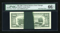 Error Notes:Ink Smears, Fr. 2075-G $20 1985 Federal Reserve Note. PMG Gem Uncirculated 66EPQ.. ...