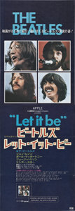 "Movie Posters:Rock and Roll, Let it Be (United Artists, 1970). Japanese STB (20.25"" X 57.5"")....."