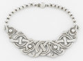 Silver Smalls:Other , A MEXICAN SILVER NECKLACE. William Spratling, Taxco, Mexico, circa1940. Marks: SPRATLING SILVER, MADE IN MEXICO. 14-3/4...