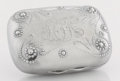 Silver Holloware, American:Boxes, AN AMERICAN SILVER SOAP BOX. Whiting Manufacturing Co., New York,New York, circa 1890. Marks: (griffin with w), STERLING,...